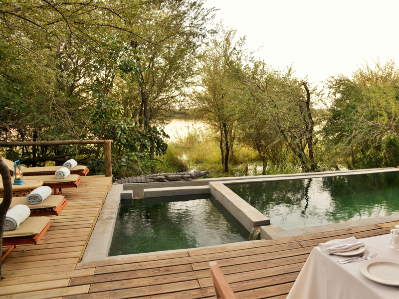 Pembury Tours - Bakwena Lodge - Chobe National Park - Botswana - Accommodation - Pool Area