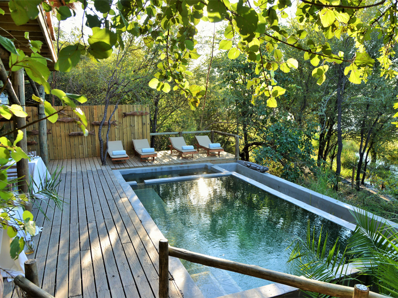 Pembury Tours - Bakwena Lodge - Chobe National Park - Botswana - Accommodation - Pool