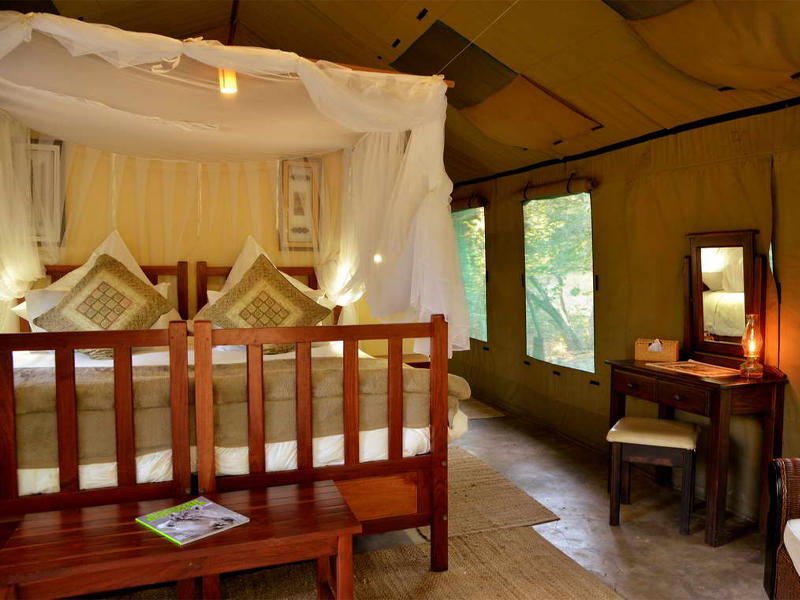 Pembury Tours - Elephant Valley Lodge - Chobe National Park - Botswana - Accommodation - Bedroom