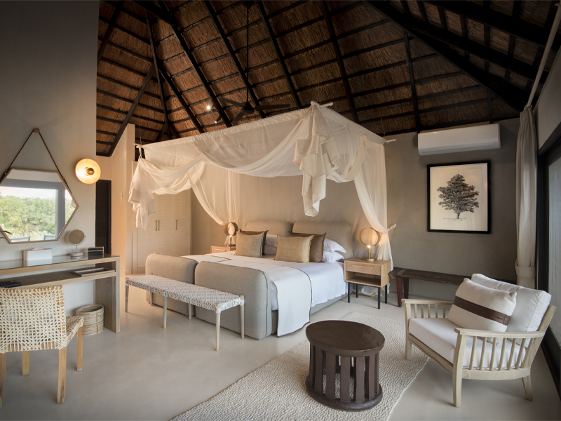 Pembury Tours - Lion Sands -River Lodge - Sabi Sand Game Reserve - Kruger National Park - Accommodation - Bedroom