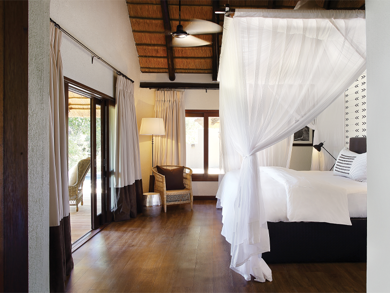 Pembury Tours - Londolozi Tree Camp - Sabi Sand Game Reserve - Kruger National Park - Accommodation - Bedroom Suite