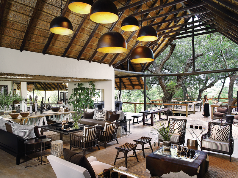 Pembury Tours - Londolozi Tree Camp - Sabi Sand Game Reserve - Kruger National Park - Accommodation - Lounge