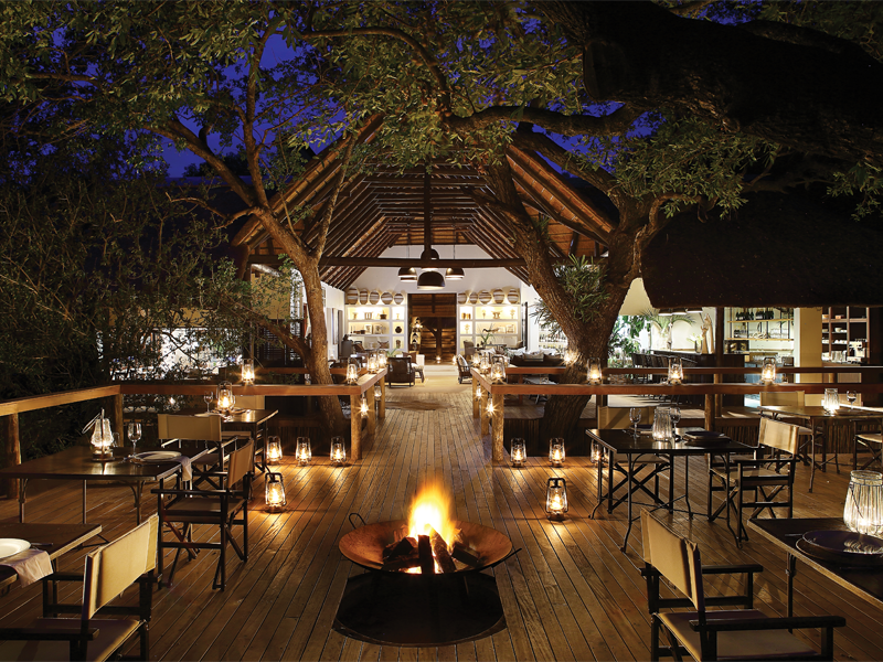 Pembury Tours - Londolozi Tree Camp - Sabi Sand Game Reserve - Kruger National Park - Accommodation - Outdoor Dining Area