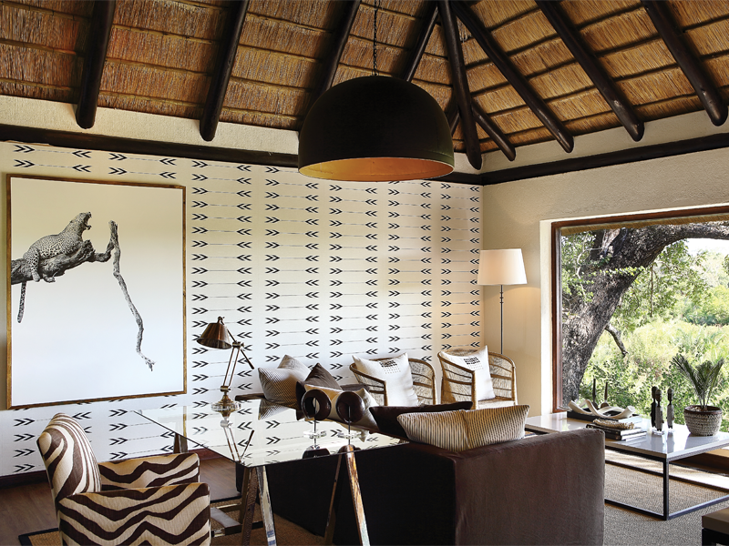 Pembury Tours - Londolozi Tree Camp - Sabi Sand Game Reserve - Kruger National Park - Accommodation - Suite - Seating Area