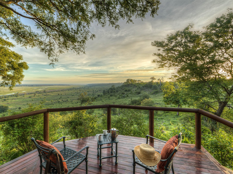 Pembury Tours - Muchenje Safari Lodge - Chobe National Park - Botswana - Accommodation - Deck