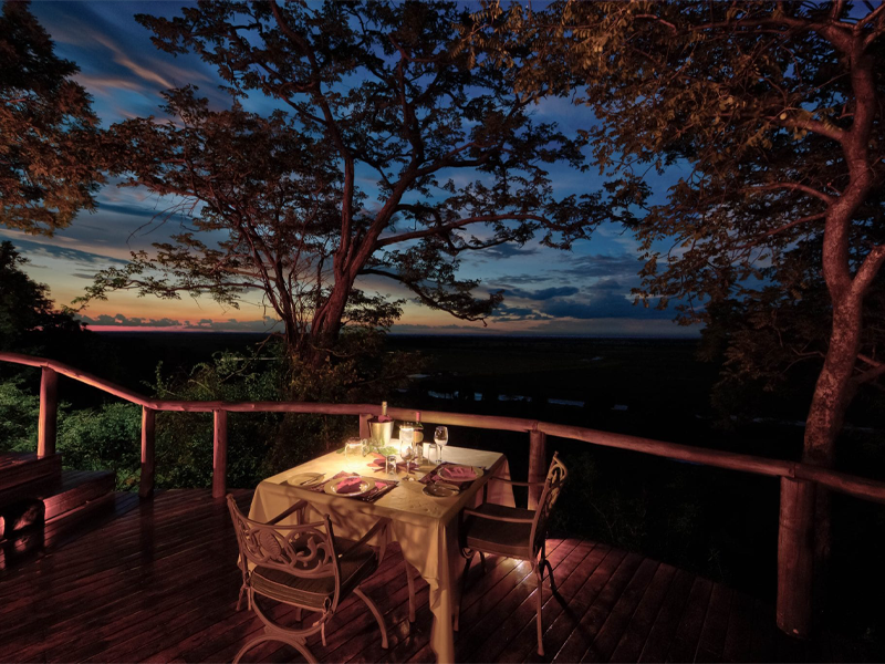 Pembury Tours - Muchenje Safari Lodge - Chobe National Park - Botswana - Accommodation - Dining