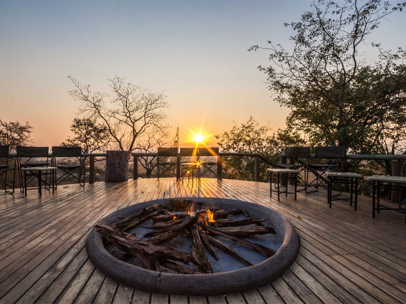 Pembury Tours - Muchenje Safari Lodge - Chobe National Park - Botswana - Accommodation - Fire Pit