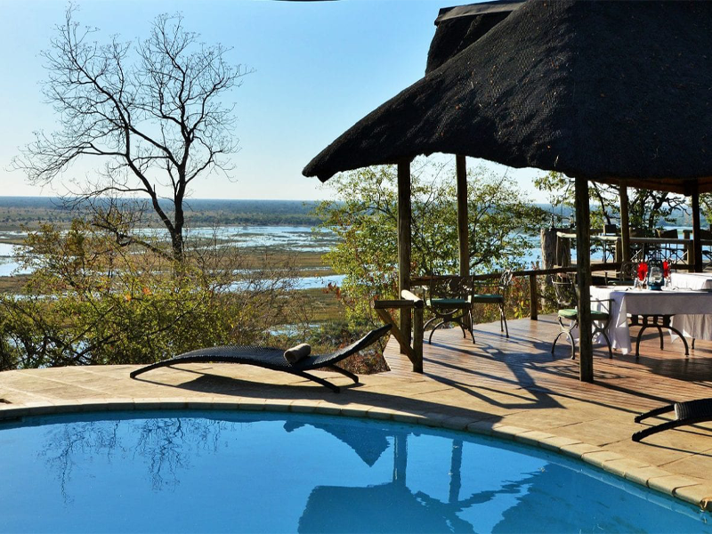 Pembury Tours - Muchenje Safari Lodge - Chobe National Park - Botswana - Accommodation - Pool
