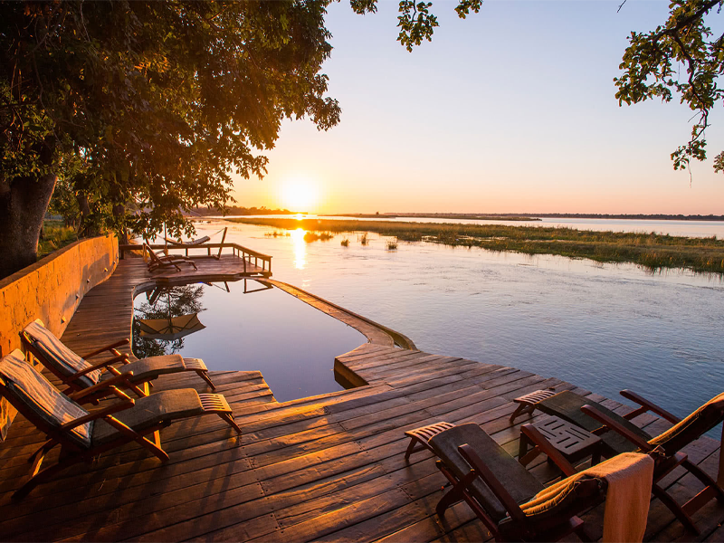 Pembury Tours - Royal Zambezi Lodge - Zambia - Accommodation - Pool