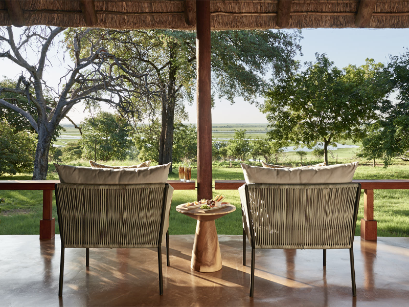 Pembury Tours - Sanctuary Retreats - Chobe Chilwero - Chobe National Park - Botswana - Accommodation - Deck