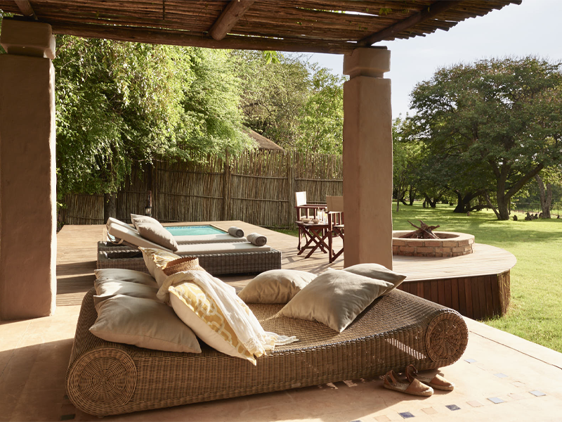 Pembury Tours - Sanctuary Retreats - Chobe Chilwero - Chobe National Park - Botswana - Accommodation - Pool Area