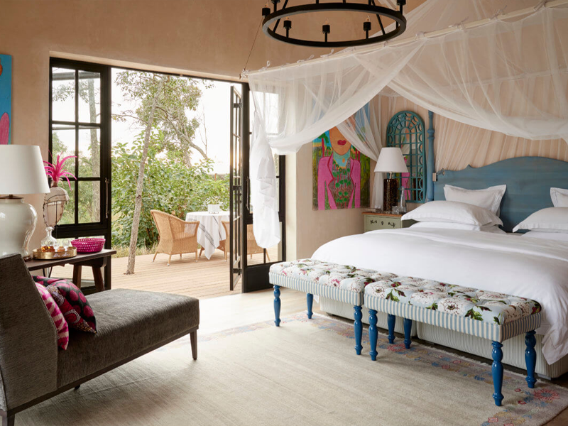 Pembury Tours - Royal Malewane - Kruger National Park - South Africa - Accommodation - Bedroom