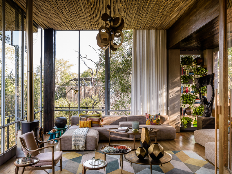 Pembury Tours - Singita Sweni Lodge - Kruger National Park - South Africa - Accommodation - Lounge Area