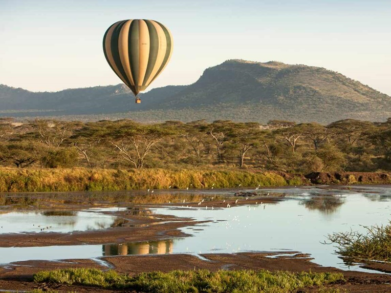 Pembury Tours - Four Seasons Serengeti - Serengeti National Park - Tanzania - East African Safari - Luxury Accommodation - Adventure Activities - Hot Air Balloon Trip