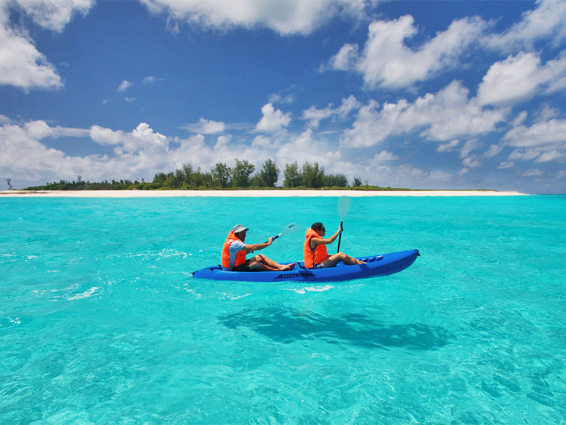 Pembury Tours - Bird Island - Seychelles - Indian Ocean Islands - Kayaking