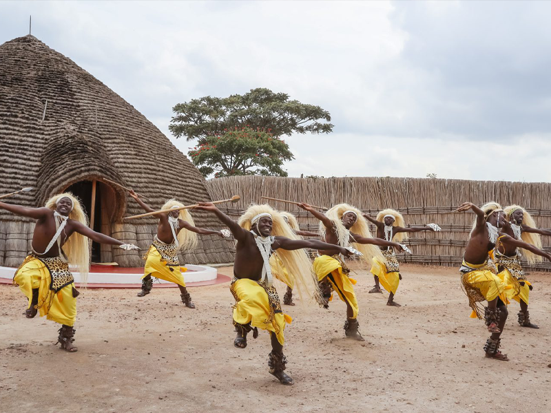 Pembury Tours - Kigali - Rwanda - Accommodation - Traditional Dancers - Male