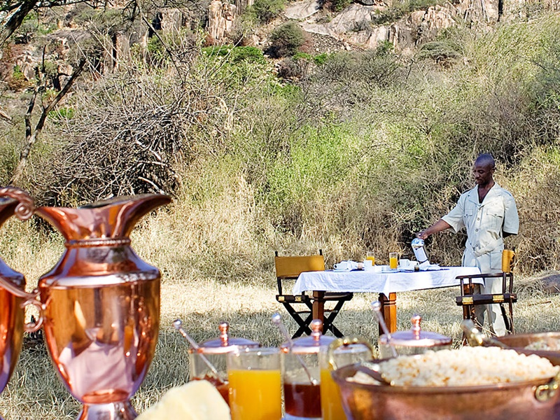 Pembury Tours - Serengeti Migration Camp - Elewana Collection - Serengeti National Park - Northern Tanzania - East Africa - Luxury Accommodation - Bush Breakfast