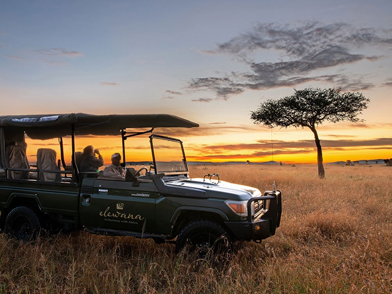 Pembury Tours - Sand River Mara Camp - Elewana Collection - Masai Mara National Park - Kenya - East Africa - Luxury Accommodation - Sunset Game Drive