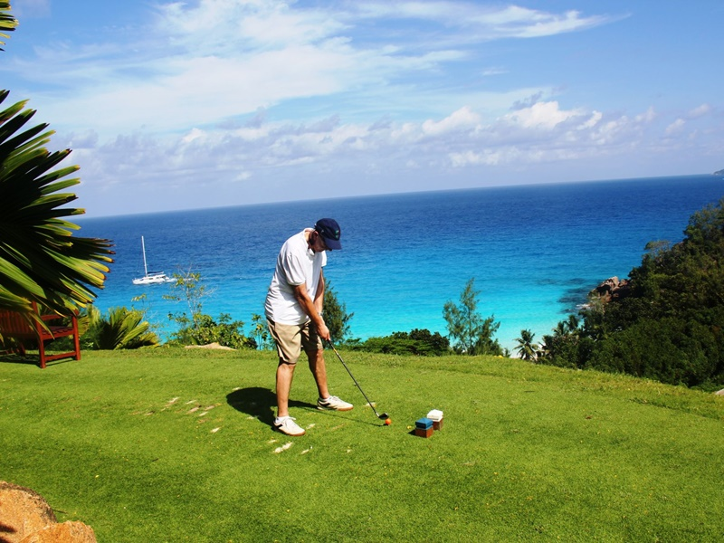 Pembury Tours - Seychelles - Mahe & Praslin Island - Beach Activities - Indian Ocean Isalnds - Golfing