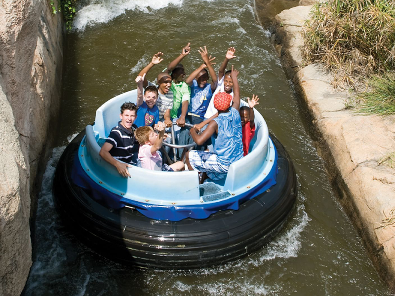 Pembury Tours - Rollercoaster at Gold Reef City in Johannesburg