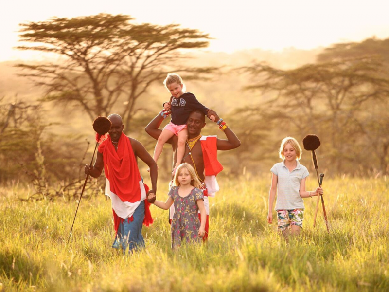 Pembury Tours - Kids on Safari